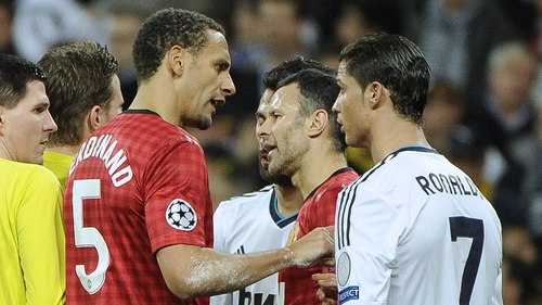 Rio Ferdinand was a star performer in the first leg with Real Madrid