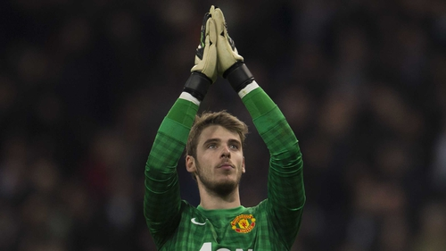 David de Gea was widely praised for his performance in the first leg