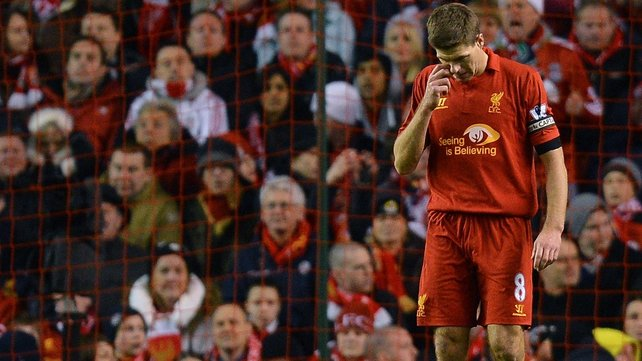 Liverpool slipped to a second 2-0 defeat of the week