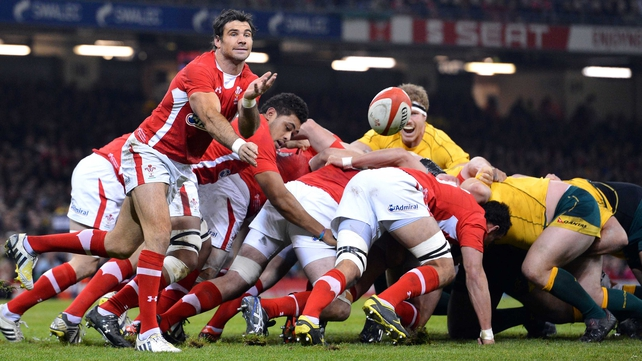 The Wales scrum will face a huge test in Rome