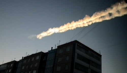 More than 1,600 people were injured when the meteorite struck the earth