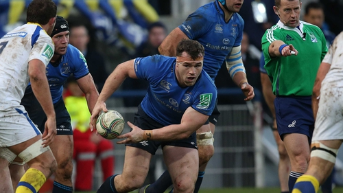 Cian Healy as expected sits out Saturday's RDS clash
