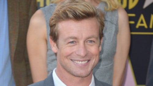 Simon Baker received a star on the Hollywood Walk of Fame