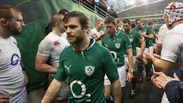 Gordon D'Arcy will not feature any further in this year's Six Nations
