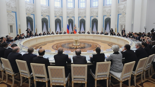 The G20 meeting is being held in Moscow