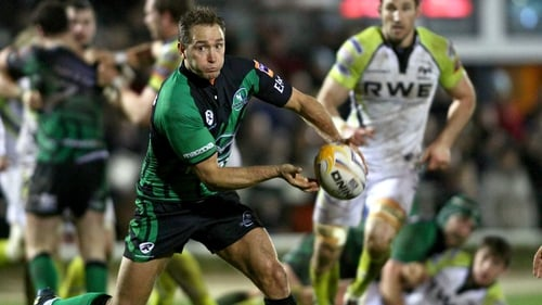 Connacht outhalf Dan Parks will coach the team's under-18 side from the 2013-14