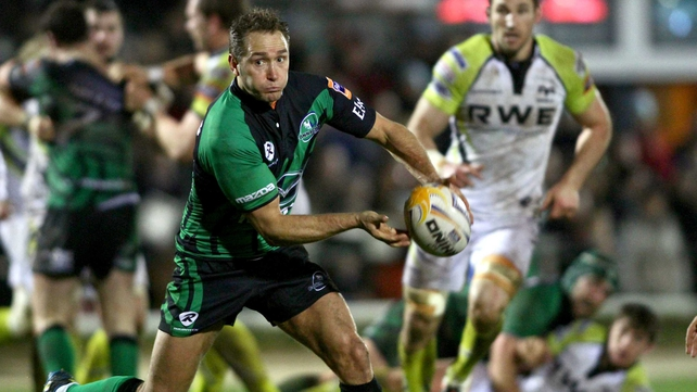 Dan Parks kicked 17 of Connacht's tally as they beat Ospreys