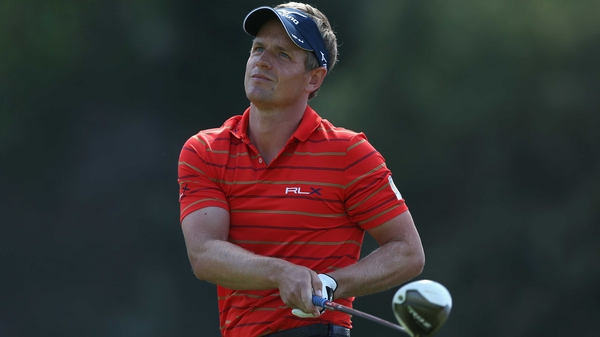 Luke Donald is two strokes behind Bae Sang-moon and Fredrik Jacobson