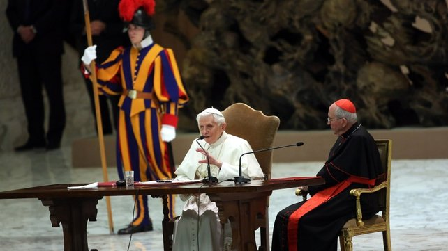 Vatican spokesman said conclave could begin earlier if enough cardinals were present in Rome