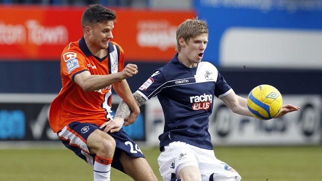 Andy Keogh was part of the Millwall side that reached the last eight
