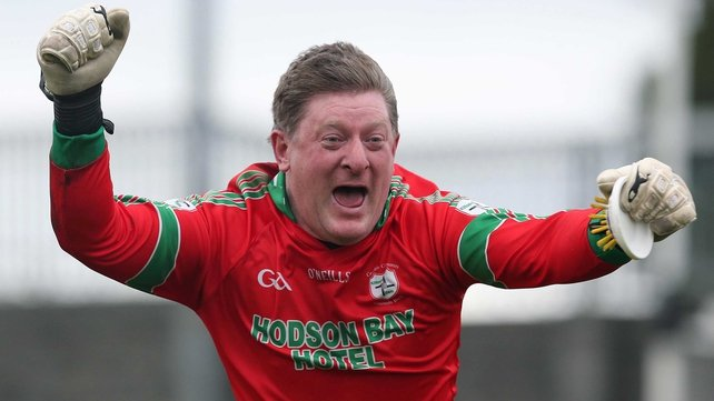 Shane Curran: 'It's an emotional time when you get a goal in the dying minutes of a match and as I was going back I think I might have run into a lad's hand'