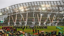 Ian O'Riordan talks about the brutal atmosphere at the Ireland-England game.