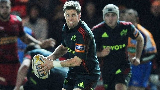 Ronan O'Gara has a day to forget for Munster