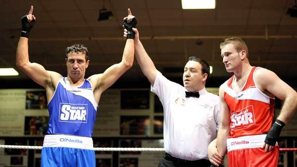Kenneth Egan won every round against Davey Joe Joyce