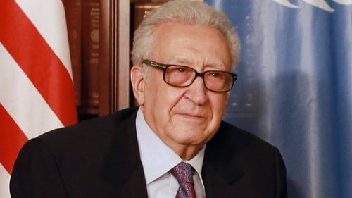 Lakhdar Brahimi proposed the talks could be held on a UN premises