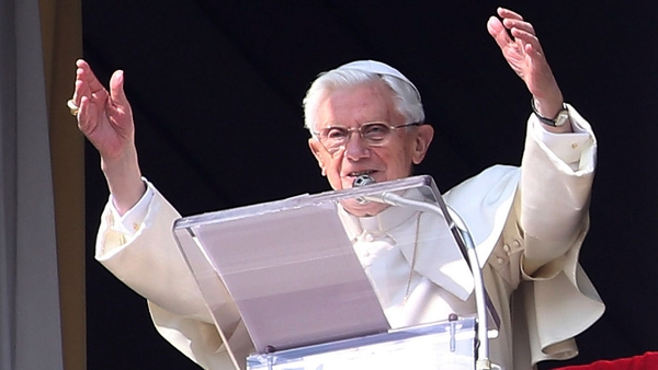 Pope Benedict asked the faithful to pray for him and his successor