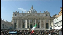 Pope Benedict in penultimate public appearance