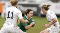 The Irish Women's rugby team are gunning for a Triple Crown.