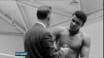 Jimmy Magee and Fred Cogley remember Seán Óg Ó Ceallacháin and recall his interview with Cassius Clay.