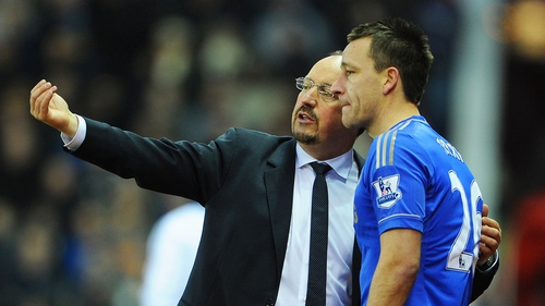 Rafa Benitez and John Terry were reported to have been involved in a training ground argument