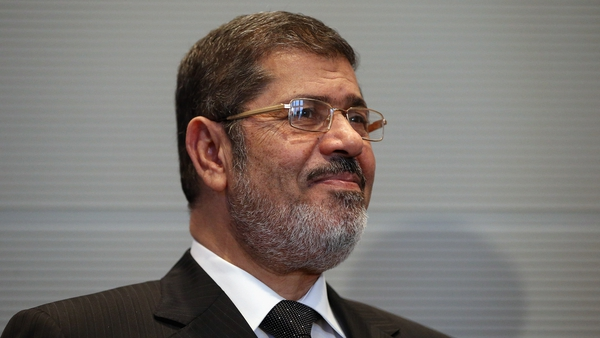 President Mohammed Mursi said he expected the new parliament to convene before the end of the year