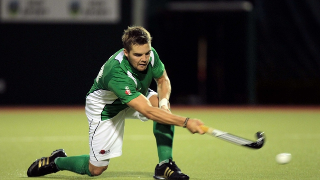 Alan Sothern hit a hat-trick for Ireland
