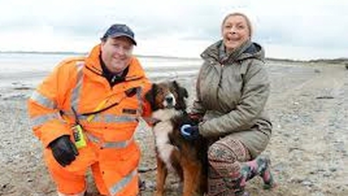 Coastguard & Collie named Hector & CPR