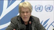 Justice must be done in Syria - UN human rights investigator Carla del Ponte