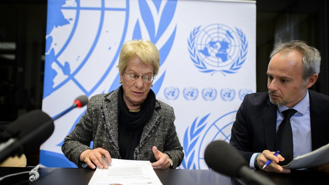 Carla del Ponte said the ICC should take up the case urgently