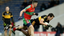 Ballymun Kickham's Philly McMahon reacts to his side's club semi-final win