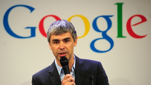 Share price rise is endorsement of Google's co-founder Larry Page
