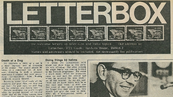 Letterbox, RTÉ Guide, 1 May 1970