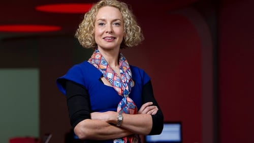 Vodafone Ireland's chief executive Anne O'Leary