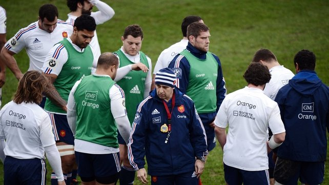 Philippe Saint-Andre's views the clash with England as France's Grand Slam game