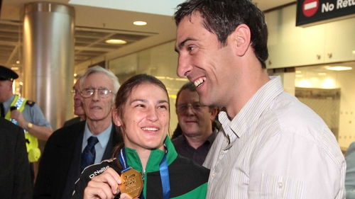 Katie Taylor and Kenneth Egan will be in action on Friday night