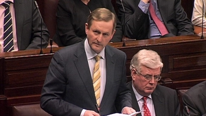 Enda Kenny issued an apology during the Dáil debate on the McAleese Report