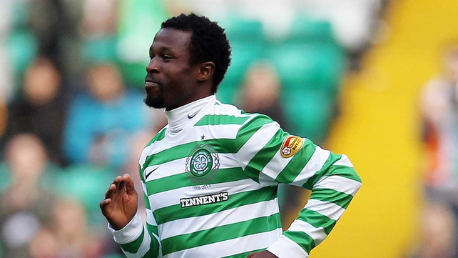 Efe Ambrose was on target for Celtic once again but it wasn't enough to claim all the points