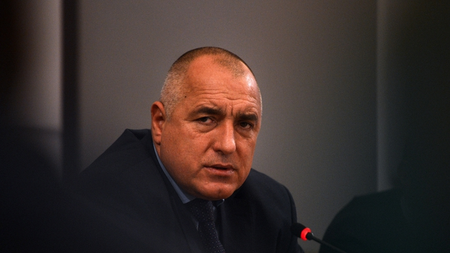 Boiko Borisov said: 'I will not participate in a government under which police are beating people'