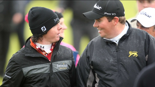 Rory McIlroy advised Shane Lowry to turn pro after his Irish Open success