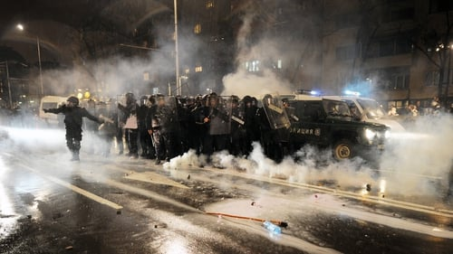 Austerity measures have led to violent protests across Bulgaria