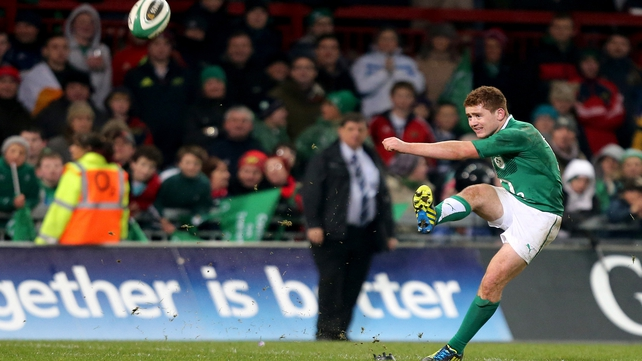 Ulster out-half Paddy Jackson looks poised to make his Ireland debut against Scotland on Saturday