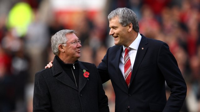 Alex Ferguson and David Gill in 2011