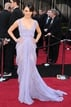 Mila Kunis dazzled in 2011 wearing this stunning lilac Elie Saab gown. We love the sheer panels and the intricate, feminine lace embedded throughout. Absolutely stunning.