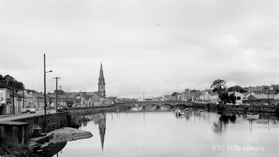 Ballina, Mayo (1974), home of 'The Western People'