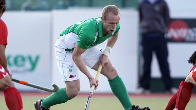 Eugene Magee scored on his record-breaking 164th cap