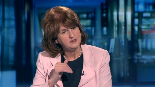 Minister for Social Protection Joan Burton said the report does not have to be implemented in one year but could be done over a period of time