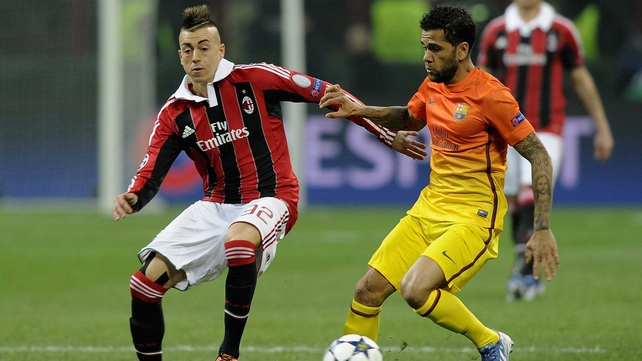 Milan deservedly saw off Barcelona at the San Siro