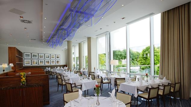 The hotel's elegant Weir Bistro
