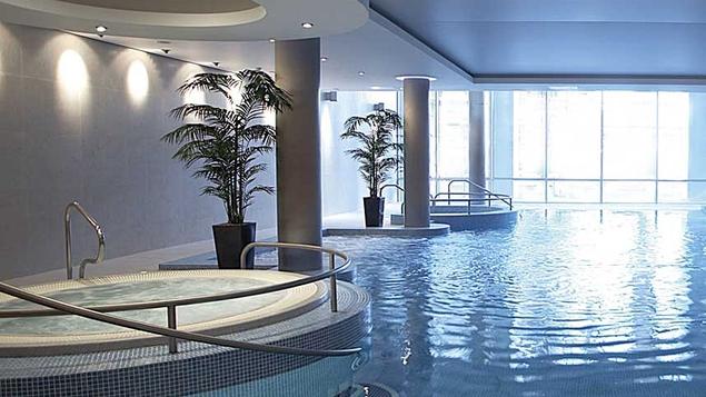 An impressive leisure area