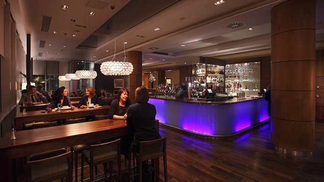 The Weir Bar is also a great place to enjoy lunch or some pre-dinner drinks